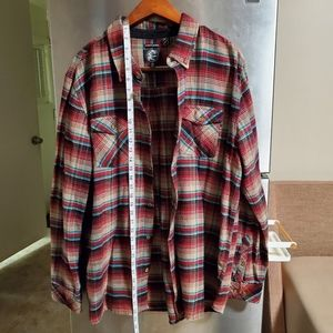 O'Neill Plaid Button Up Flannel